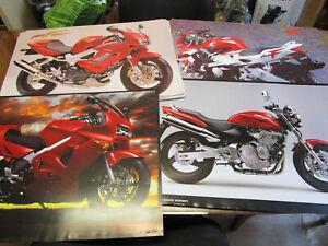 HONDA MOTORCYCLE  POSTERS. MAN CAVE,GARAGE,BEDROOM ETC