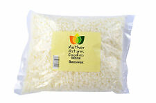 Beeswax White Pellets Deodorised Cosmetic Grade 100 Mother Natures Goodies 1kg