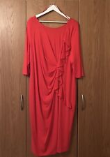 Scarlett Jo Red Party Dress Size 28 Christmas / Occasion NWT