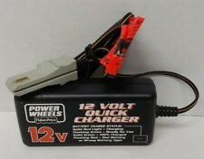 Genuine Power Wheels 12 Volt Battery Quick Charger Model 00801-1782 12V 2.5 A