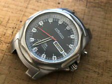 Nixon The Rover Wanderlust 100M WR All Stainless Steel Watch Face Black Dial