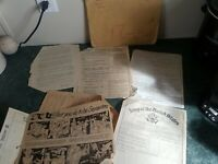 WW2 US Navy Honorable Discharge Paper Work Lot