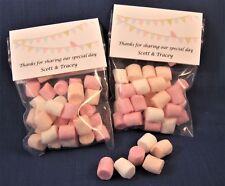 Mini Marshmallow - Personalised Wedding Favours
