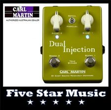 CARL MARTIN DUAL INJECTION TWO CHANNEL BOOST PEDAL INJECT 2 TONE - NEW