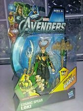 Avengers action figure cosmic spear loki