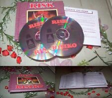 Risiko PC kpl. DEUTSCH !! Rare 2 CD Version !! Im Buchformat