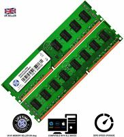 Memory Ram 4 Desktop PC DDR3 PC3 10600 1333 MHz 240 Pin DIMM Non ECC CL9 2x Lot