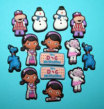 Doc McStuffins Cake Decorations 14 Cupcake Toppers Party Favours Charms NEW
