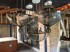 Suspension vintage lustre LAMPE RAAK MODÈLE GOUTTE DE PLUIE design 70