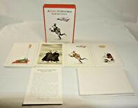 NEW Edward Gorey Polar Bear Xmas Holiday Card ONE 5x7 Weird Bizarre Gothic Cards