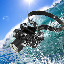 Waterproof 5000Lm XM-L2 LED Diving Tauchen Zoom Stirnlampen Headlamp Kopflamp