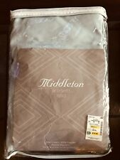 King Bed Skirt by Middleton-Blue Haze - New In Original