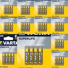 Lot de 40 piles AAA LR3 Varta Superlife LR3 AAA.  à prix cassé