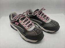 Womens Shoes Skechers 76601 Biscoe Steel Toe Memory Foam Industrial Footwear  7