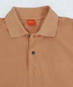 Mens 1980s Vintage Hugo Boss Polo Shirt Size Large Vintage Clothing, Menswear