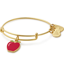 NEW!!! ALEX AND ANI Apple Charm Bangle ~ B- 32