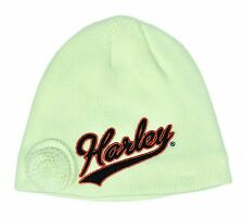 Harley-Davidson Toddler Girl Knit Winter Hat - 2-4T - Kids Clothing - Cap