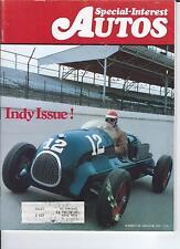 SPECIAL INTEREST AUTO -SIA 28, Indy Issue, 1925 Rickenbacker, 1926 Super Sport +
