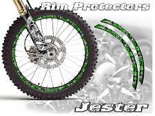 16 & 19 INCH DIRT BIKE RIM PROTECTORS WHEEL DECALS TAPE GRAPHICS MOTORCYCLE