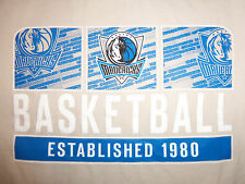 NBA Dallas Mavericks Basketball Established 1980 T Shirt 2XL