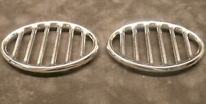 VW Horn Grill. Set of 2. 113853641A. T-1 1946-1967. PAIR Volkswagen Bug Beetle