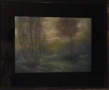 Original Leon Dolice Painting Framed Signed