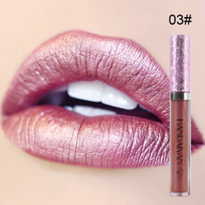 Waterproof Liquid Matte Lipstick Long Lasting Lip Stain Lip Gloss Shimmer Makeup