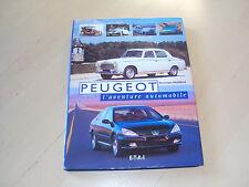livre  PEUGEOT l'aventure automobile