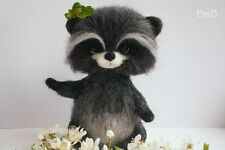 Soft toy exclusive hand felt wool sculpture artists in miniature