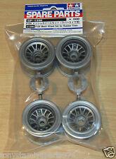 Tamiya 51398 F104 Mesh Wheel Set for Rubber Tyres/Tires (Ferrari F60/McLaren)