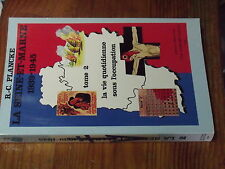 8µ? Livre La Seine et Marne 1939-1945 Tome 2 Vie quotidienne occupation  PLANCKE