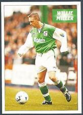 PANINI SCOTTISH FOOTBALL LEAGUE 97- #183-HIBERNIAN-WILLIE MILLER IN ACTION