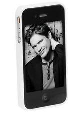iPhone case weiß mit Aufsteller für iPhone 4 Etui Hülle