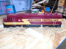 O Weaver WISCONSIN CENTRAL END F45 LOCO BRASS