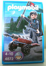 Playmobil Robber Barons with Gun 4872 NIP Knight Castle Castle Knight Canon