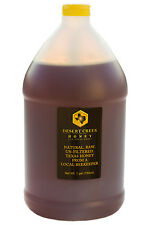 One Gallon (12 lbs) Raw, Unfiltered, Unpasteurized Texas Honey FREE SHIPPING!
