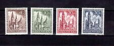 GERMANY BERLIN 1953 Kaiser Wilhelm Church set MUH