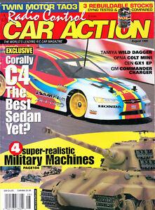 RC CAR ACTION MAGAZINE AUGUST 1999