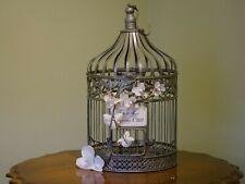 Wedding Shower Gift Card Holder Cage Metal Birdcage