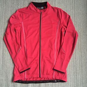 Women's Crivit Long Sleeve Cycling Jersey Size 10 Pink
