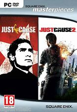 Just Cause 1 and 2 Collection PC Brand New sealed