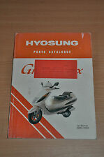 Ersatzteilkatalog  HYOSUNG Grand Prix ( Motorroller) Parts Catalogue