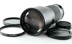 Excellent+++ Minolta New MD NMD 300mm f/4.5 MF Telephoto Lens w/ Cap from Japan