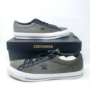 Converse Chuck Taylor One Star Woolrich OX Jute Men's Size 12 154036C  Sneakers