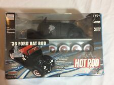New 1936 die cast ford rat rod model kit 2006 classic metal works 1/24th scale