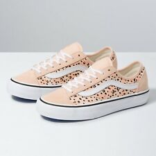 VANS Canvas Animal Print Trainers for