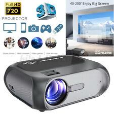 TOPRECIS T7 Projektor 4K Full HD Mini LED LCD Projektor Heimkino Beamer Desktop
