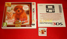 NINTENDOGS + CATS BARBONCINO NANO Nintendo 3Ds Italiano Selects ○ USATO - D1