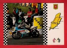 Isle of Man TT Postcard - Dennis Trollope Yamaha - Governors Bridge - Welldon 76