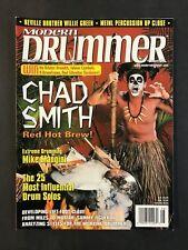 Modern Drummer Magazine August 1999  Chad Smith